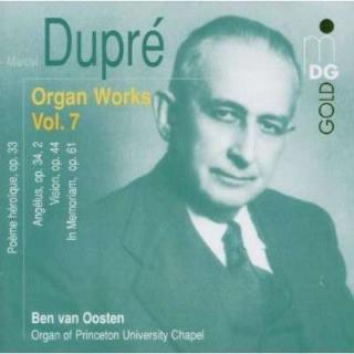 Dupre: Complete Organ Music Vol 7