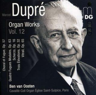 Dupre, Marcel: Organ Works Vol.12