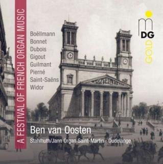 Festival Of French Organ Music - van Oosten, Ben