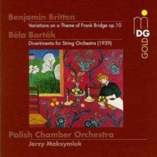 Bartok/Britten: Divertimento/Bridge Variations - Polnisches Kammerorchester