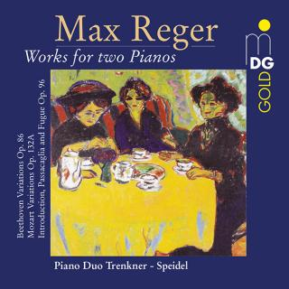Reger, Max: Musikk for to klaverer (komplett) - Piano Duo Trenkner/Speidel