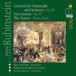 Rubinstein: Concerto For Violoncello And Orchestra Op.63