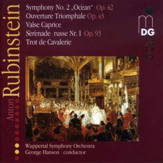 Rubinstein: Symphony 2/Ouverture Triomphale/Valse Caprice - Wuppertal Symphony Orchestra