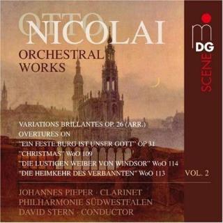 Nicolai: Works For Orchestra, Vol. 2 - Tanski/Suedwestfaelische Philharmonie