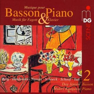 Music For Bassoon And Piano Vol.2 - Jensen/Kitagawa