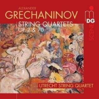 Grechaninov: String Quartets Op.2, Op.70 - Utrecht String Quartet
