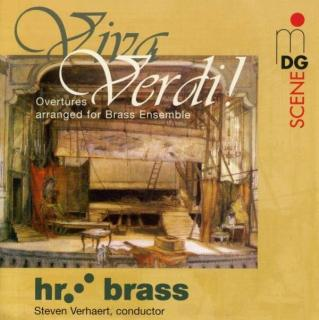 Viva Verdi: Overtures Arranged For Brass - Hr Brass