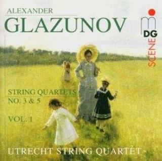 Glasunov: String Quartets Vol.1 - Utrecht String Quartet