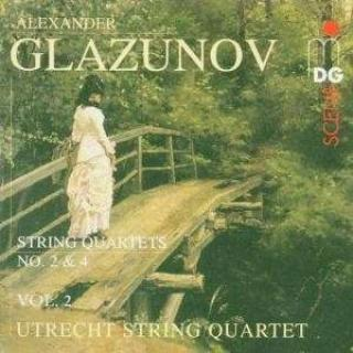 Glazunov: String Quartets Vol.2 - Utrecht String Quartet