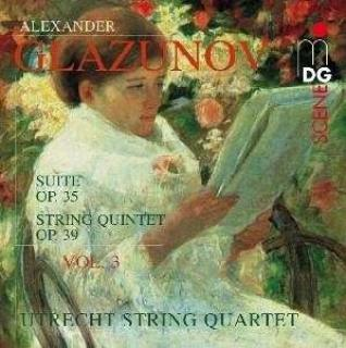 Glazunov: String Quartets Vol.3 - Utrecht String Quartet/Stirling
