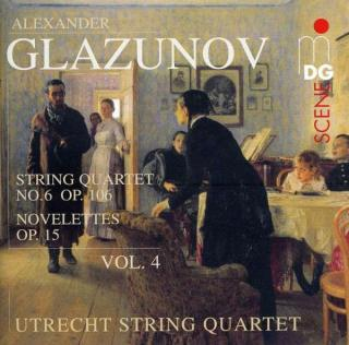 Glazunov: String Quartets Vol.4 - Utrecht String Quartet