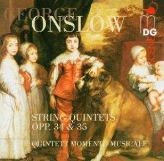 Onslow: String Quintets Op. 34 & 35 - Quintett Momento Musicale