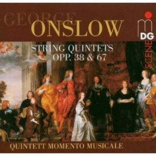Onslow: String Quintets Op. 38 & 67 - Quintett Momento Musicale