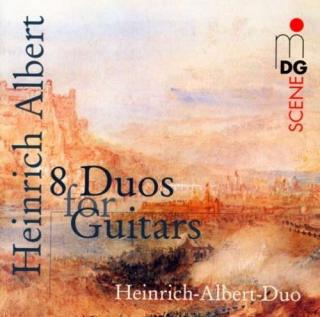 Albert: 8 Duos For Guitar - Heinrich-Albert-Duo