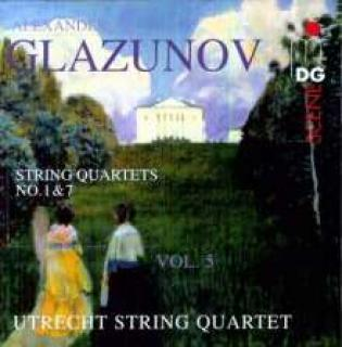 Glazunov: String Quartets Vol.5 - Utrecht String Quartet