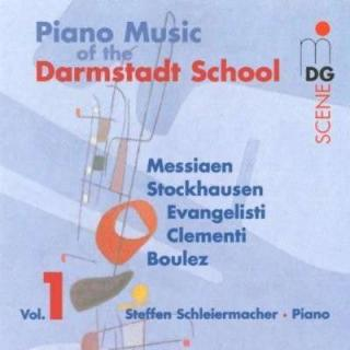 Piano Works Of The Darmstadt School Vol.1 - Schleiermacher, Steffen