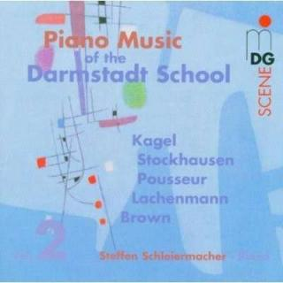 Piano Works Of The Darmstadt School Vol.2 - Schleiermacher, Steffen