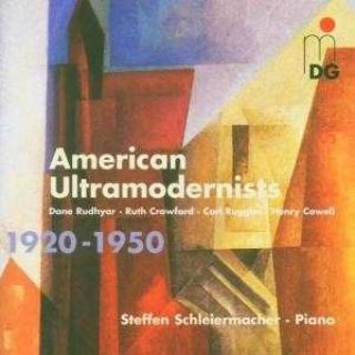 American Ultramodernists - Schleiermacher, Steffen