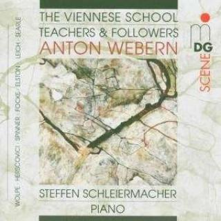 Piano Music, Webern, Anton And His Pupils - Schleiermacher, Steffen
