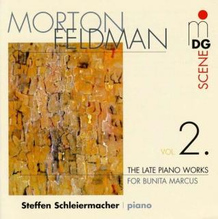 Feldman: Late Piano Works Vol.2 - Schleiermacher, Steffen
