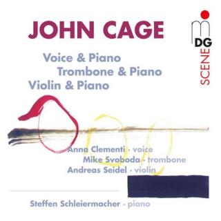 Cage: Voice And Piano/Trombone And Piano/Violin And Pian