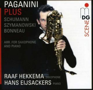 Paganini: Works For Saxophone And Piano - Hekkema/Eijsackers