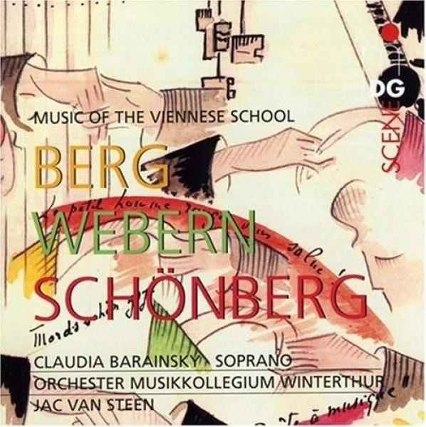 Music Of The Viennese School <span>-</span> Barainsky, Claudia/Orch. Musikkollegium Winterthur