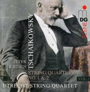 Tchaikovsky: String Quartets No. 1 & 2 - Utrecht String Quartet