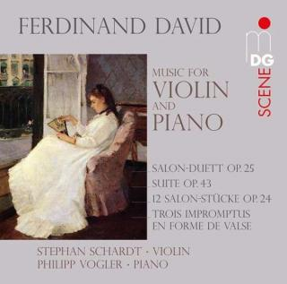 David: 12 Salon Pieces Op. 24/Salon Duet Op. 25/Trois Impromptus Op. 40/.. - Schardt, Stephan/Vogler, Philipp