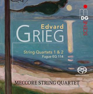 Grieg, Edward: String Quartets - Meccore String Quartet
