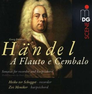 Handel: Sonatas For Recorder And Harpichord - Ter Schegget/Meniker