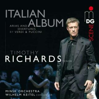 Puccini/Verdi: Italian Album - Richards/Orchestra of the Bolschoi Opera Minsk