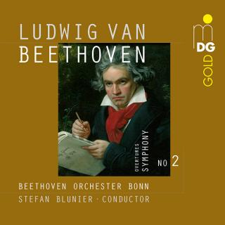 Beethoven, Ludwig van: Symphony No. 2; Ouvertures - Blunier, Stefan
