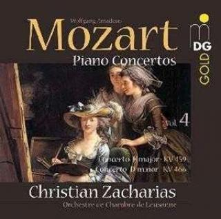 Mozart: Klaverkonserter Vol. 4 - Nr. 19 & 20 - Christian Zacharias (piano and conductor)
