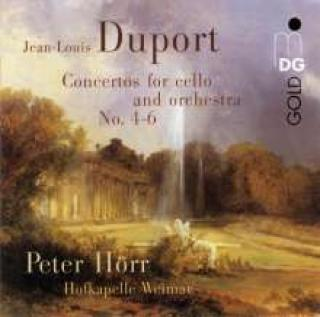 Duport: Cellokonserter Nr. 4, 5 & 6 - Peter Hörr (cello)