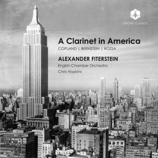 A Clarinet in America - Fiterstein, Alexander / English Chamber Orchestra / Hopkins, Chris