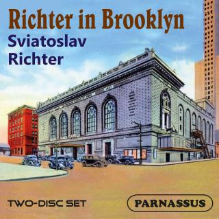 Sviatoslav Richter – Richter in Brooklyn - Richter, Sviatoslav – piano