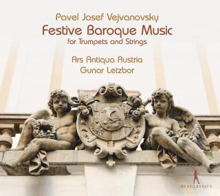 Vejvanovsky, Pavel Josef: Festive Baoque Music - For trumpet & Strings - Letzbor, Gunar