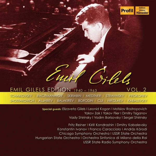 Emil Gilels Edition, Vol. 2 <span>-</span> Gilels, Emil (piano) / Various Artists