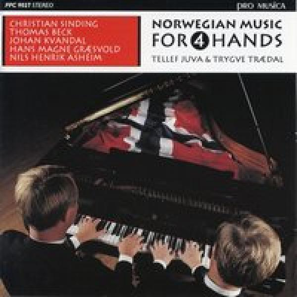 Norwegian Music For 4 Hands <span>-</span> Juva,Tellef/Trædal,Trygve