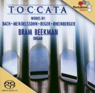 Toccata - 200 Years Of German Organ Music - Bram Beekan (organ)