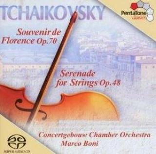 Tchaikovsky: Serenade For Strings In C Major, Op. 48 / Souvenir De Florence, Op. 70 - Concertgebouw Chamber Orchestra/Boni, Marco