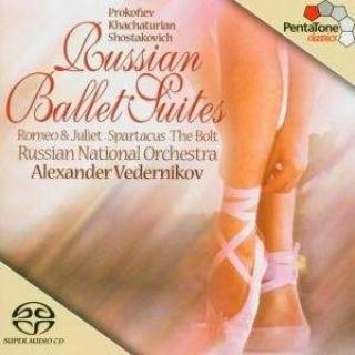 Russian Ballet Suites - Russian National Orchestra/Vedernikov, Alexander