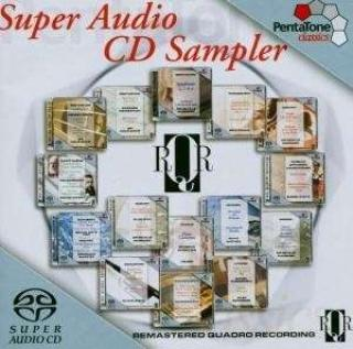 Sacd Hybrid Sampler (Remastered Quadro Recordings) - Various