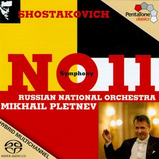 Shostakovich: Symphony No. 11 In G Minor, Op. 103 `The Year 1905` - Russian National Orchestra/Pletnev, Mikhail