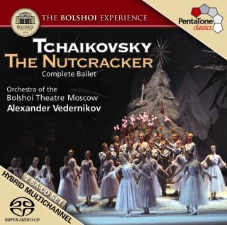 Tchaikovsky: The Nutcracker - Orchestra of the Bolshoi Theatre Moscow/Vedernikov, Alexander