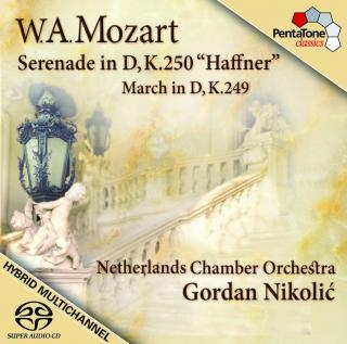 Mozart: Serenade & March In D - Netherlands Chamber Orchestra/Nikolic, Gordan (leader)