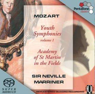Mozart: Youth Symphonies Volume 1 - Academy of St Martin in the Fields/Marriner, Sir Neville