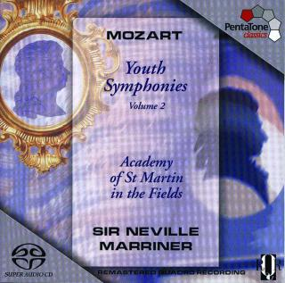 Mozart: Youth Symphonies Vol 2 - Academy of St Martin in the Fields/Marriner, Sir Neville