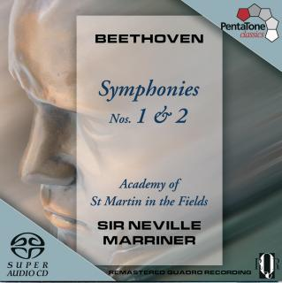 Beethoven:Symphony 1&2 - Marriner, Sir N./Academy of St. Martin in the Fields
